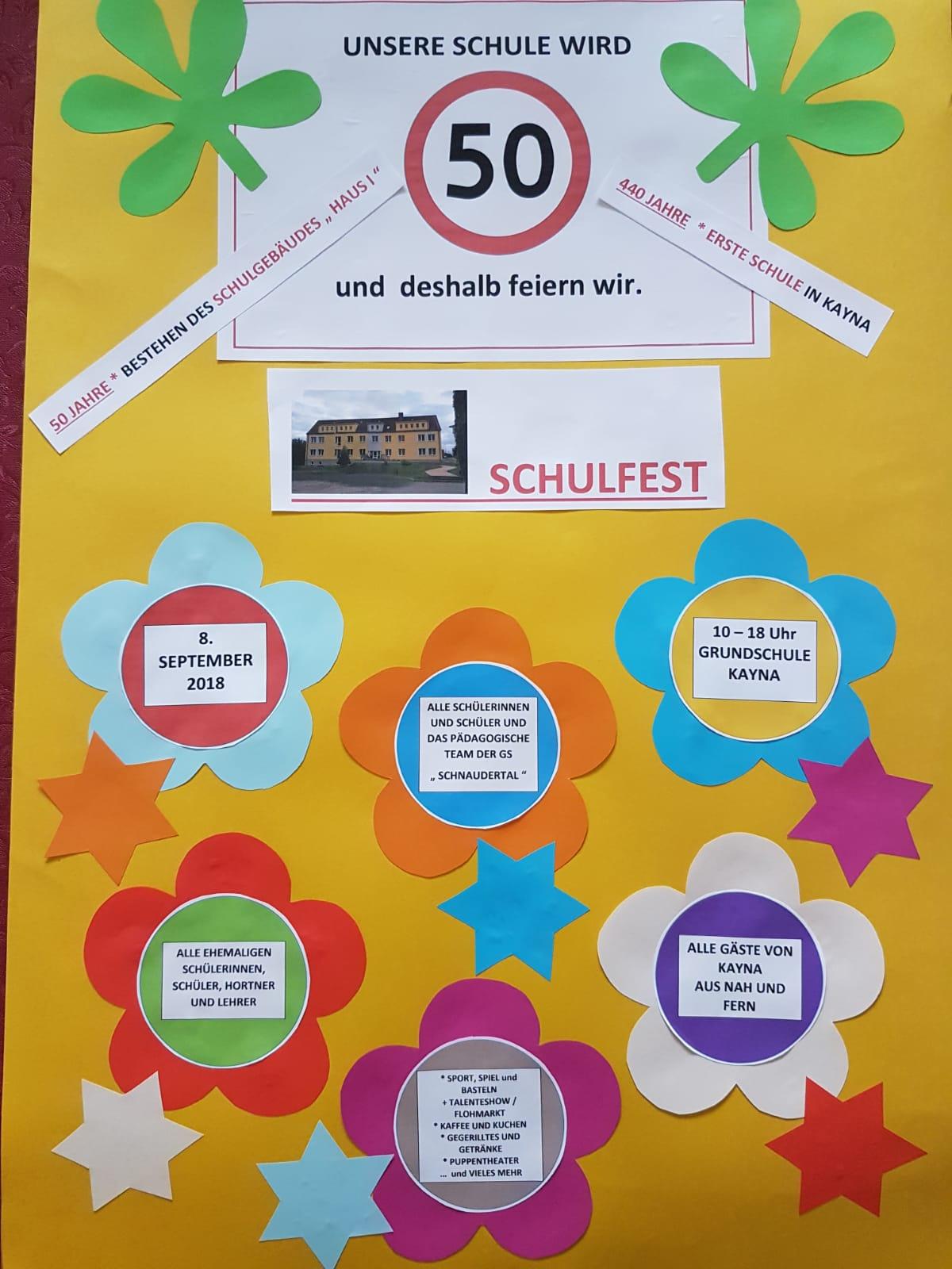 Hurra Bürger Und Schulfest In Kayna Grundschule